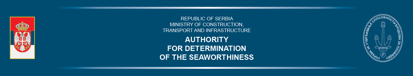 Authority for Determination of the Seaworthiness