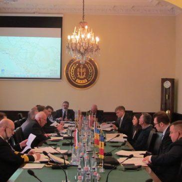 20.02.2019. одржан је састанак радне групе Дунавске комисије